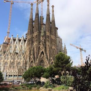A barcelona de Gaudí
