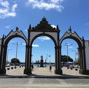 Em Ponta Delgada, na Ilha de São Miguel