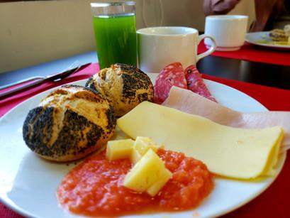 O café da manhã do hotel Casual del Teatro Madrid