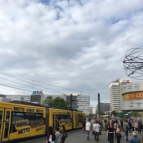 No agito da Alexanderplatz