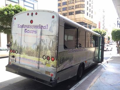 O passeio da Extranomical Tour