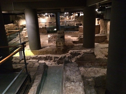 No Museu de História de Barcelona