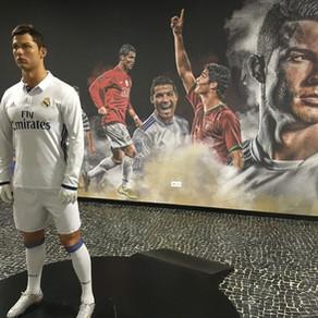 No Museu CR7, de Cristiano Ronaldo, na Ilha da Madeira