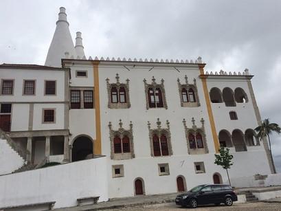 No Palácio Nacional de Sintra