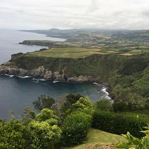 Os miradouros da Ilha de São Miguel
