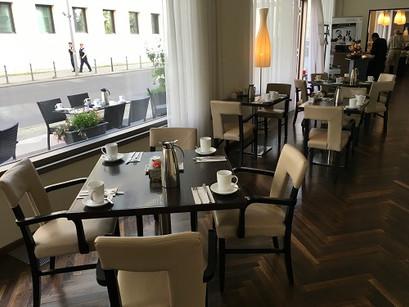 O café da manhã do Arcotel John F Berlin