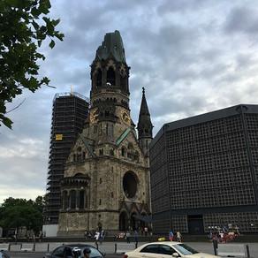 A igreja destruída de Berlim