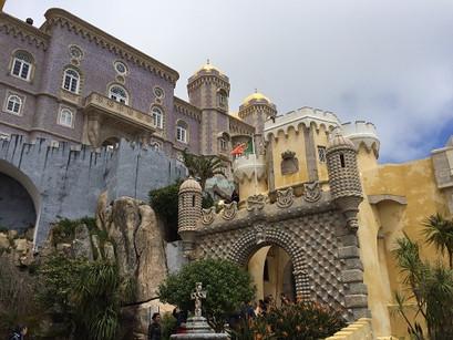 No Palácio da Pena
