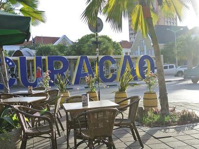 Chegamos a Curaçao