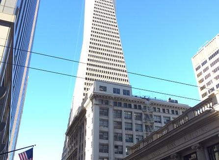 O maior prédio de São Francisco