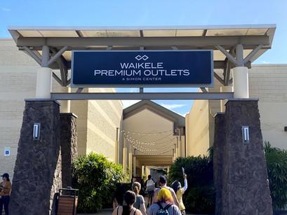 No Hawaii o melhor das compras noWaikele Premium Outlets