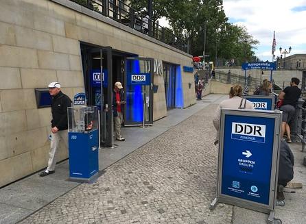 No DDR Museumde Berlim