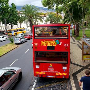 Com o CitySightseeing Portugal na Ilha da Madeira