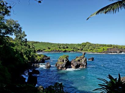 O caminho para Hana, em Maui, com a Hana Tours of Maui