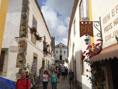 As lembrancinhas em Óbidos