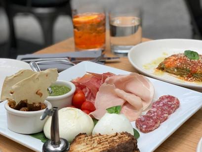 O sabor italiano no Obicà Mozzarella Bar de New York