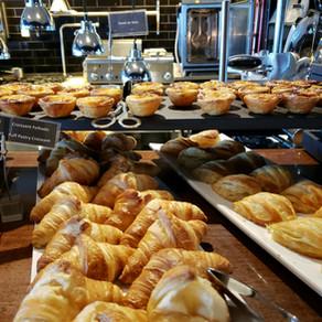 No café da manhã do Pestana CR7 Hotel, na Ilha da Madeira