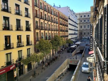 No hotel Sleep'N Atocha, em Madrid