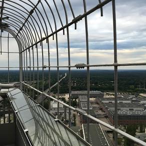 Vendo Berlim do alto