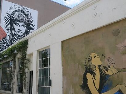 Arte no Centro em Los Angeles