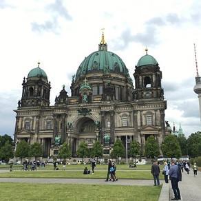 Na Catedral de Berlim