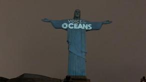 Cristo Redentor ganha a cor dos oceanos aos 90 anos