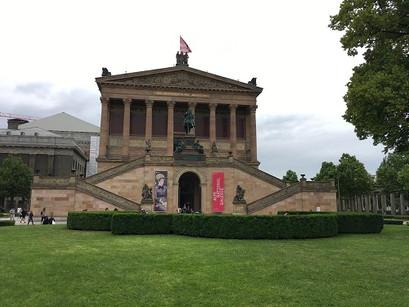 Na Alte Nationalgalerie, em Berlim