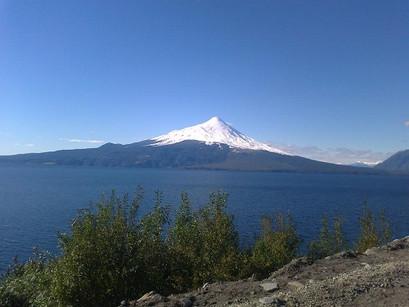 Nas águas do Chile