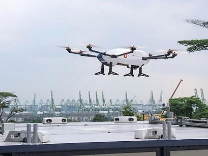 O futuro das entregas por drones