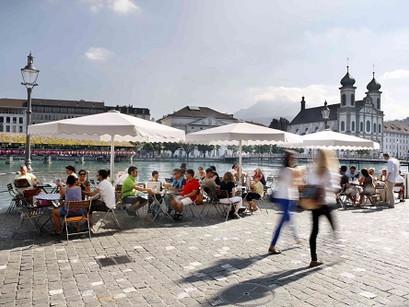 Onde comer no centro histórico de Lucerna