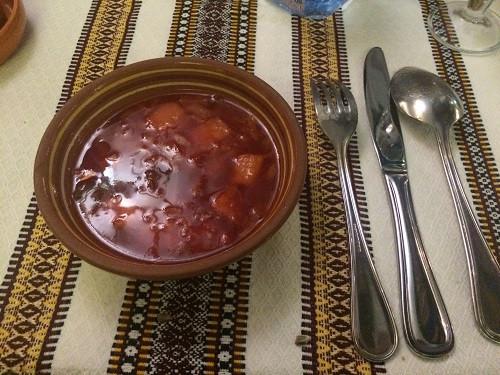 Borshch (sopa de beterraba)
