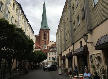 Na Berlim antiga, em Nikolaiviertel