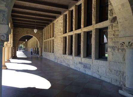 Na universidade de Stanford