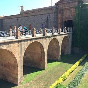 No Castelo de Montjüic