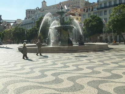 Nos embalos da Praça do Rossio