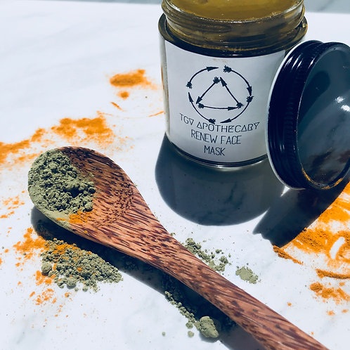 Renew Turmeric & Green Tea Face Mask