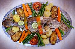 poisson grillé au four