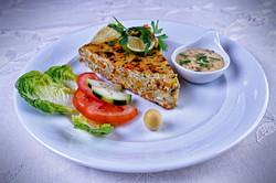 Tortilla aux petits legumes