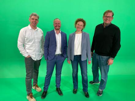 Dreh mit Dr. Martin Waitz und Anja Kleinehanding von medproduction und vetproduction