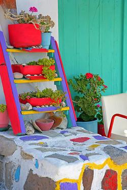 Milos island. Island of colors.