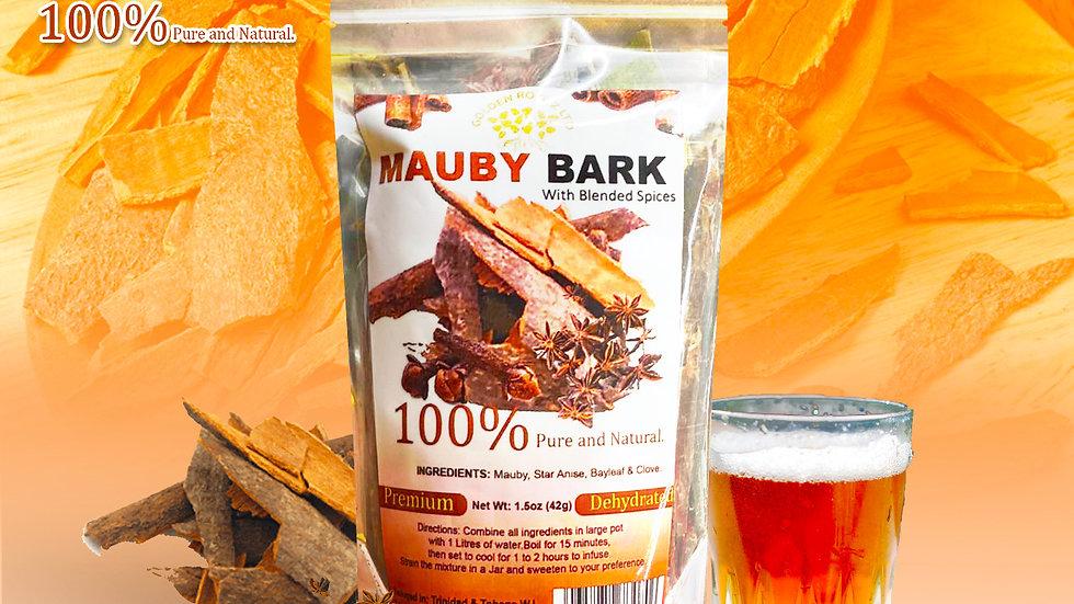 MAUBY BARK WITH BLENDED SPICES (CLOVE, BAYLEAF  & STAR ANISE) 1.5 OZ