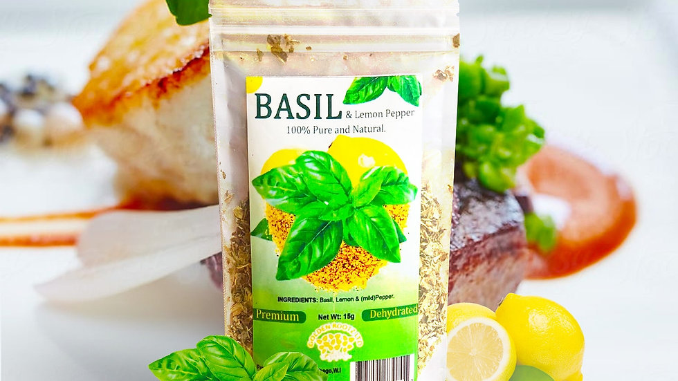 BASIL & LEMON PEPPER