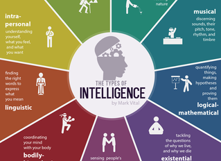 9 Types Of Intelligence – Infographic