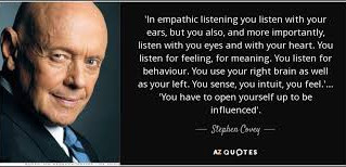 Using Empathetic Listening to Collaborate
