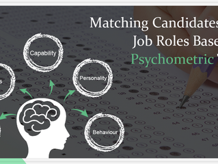 Matching Candidates and job roles based on Psychometric Tests