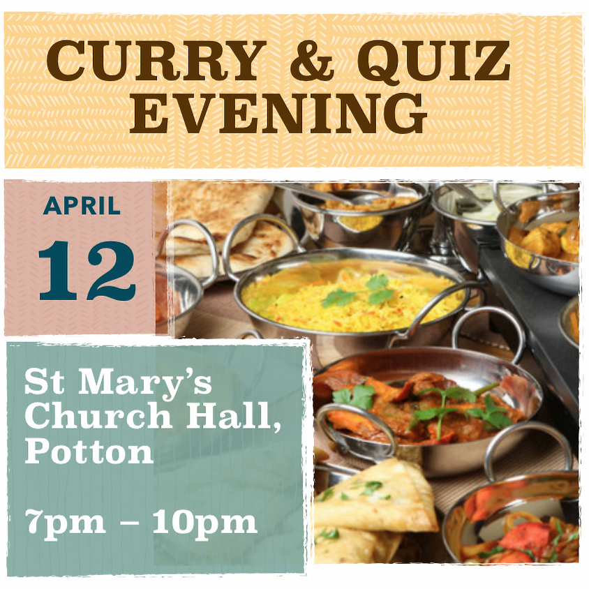 Curry and Quiz Evening