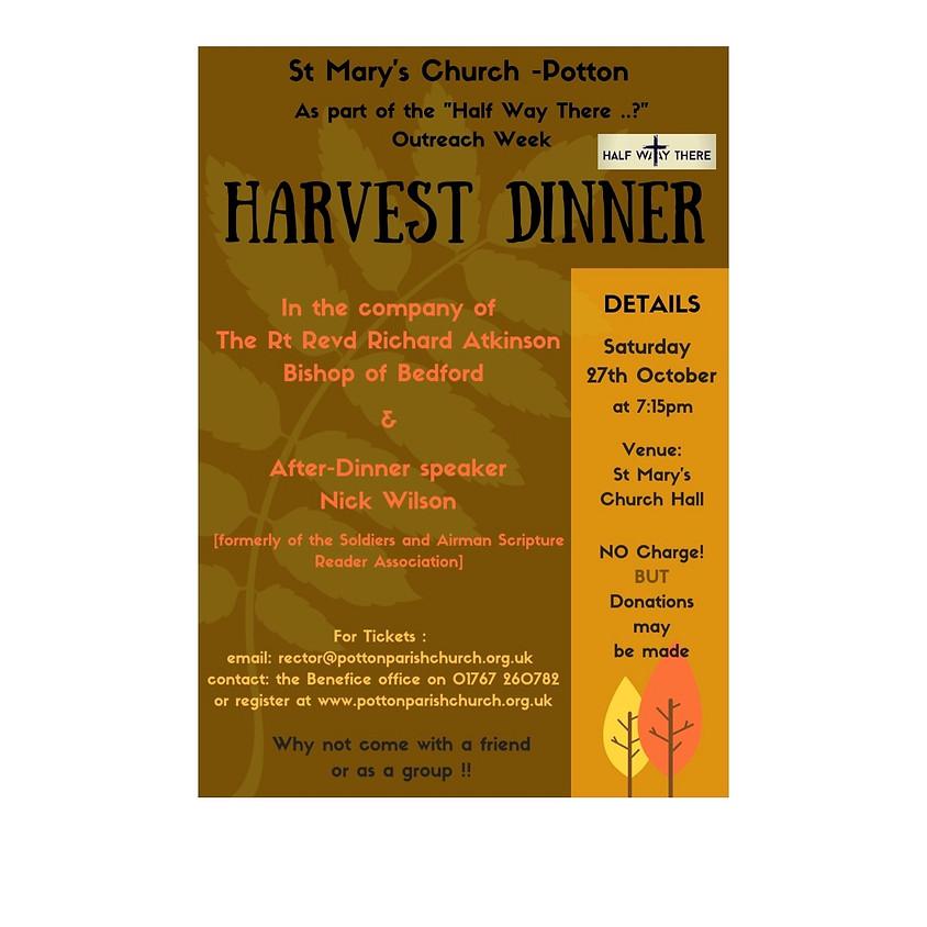Harvest Roast Dinner - Mission Week