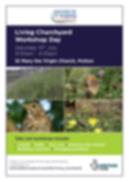 Living Churchyard Workshop Day_A4 Poster