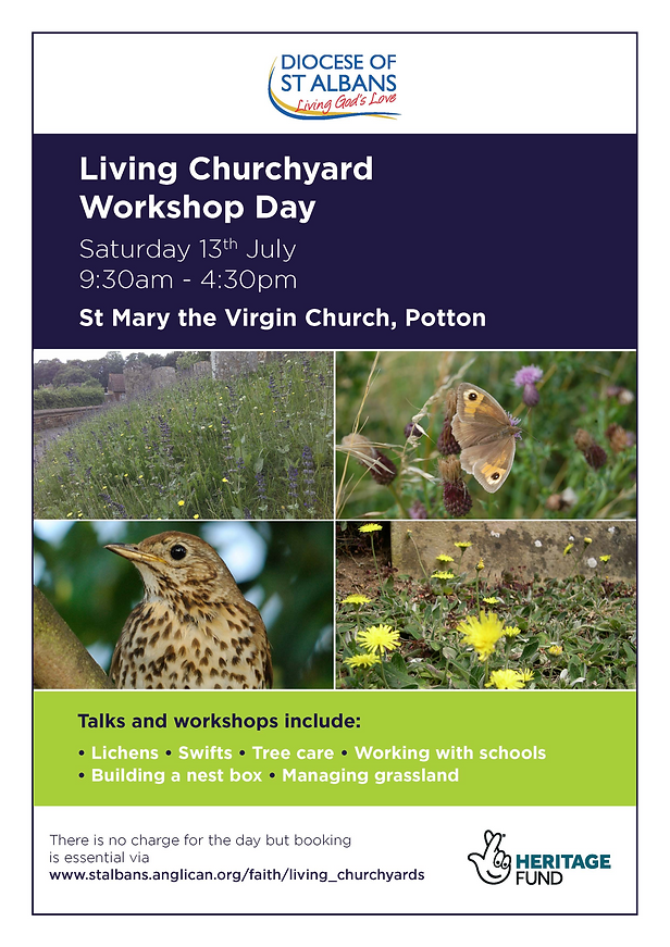 Living Churchyard Workshop Day_A4 Poster