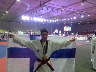 Emma Reiman toi kultaa Dubaista